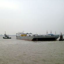 375FT BALLAST BARGE & SHIP