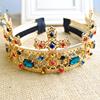 vintage baroque crystal crown headband bridal jewelry, headband(SWTJU460)