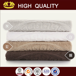 Elegant style organic color cotton towel- towel with high quality