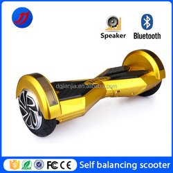 """8"""" King kong 2 wheel electric scooter with bluetooth and LED strip light"""