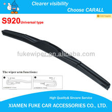 car accessories&Universal Flat Auto Wipers & Laser printing logo available