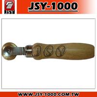 JSY-916 Car Repair Tool Wood Handle Patch Wheel Corner roller manual tools