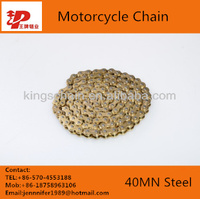 4-side rivetting chains for motrcycle inner and outer copper plated