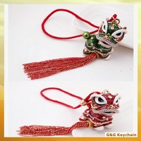 Lovely Zinic Alloy Chinese Style Keychains for Car Hanging Ornament RE 077