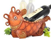 fashion fish wine bottle holder for business gift