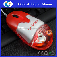 Cute 3D Optical Wired Liquid Computer Mouse With Floater