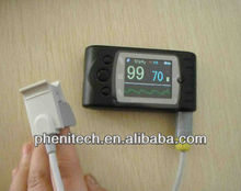Pocket-Size Pulse Oximeter with Alarms & Memory and free PC Software