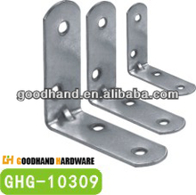 hardware de los muebles del ángulo de la esquina del soporte