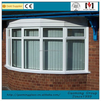 Heat Insulation Curved Glass Window,Industrial Windows,Louvre Window 3375
