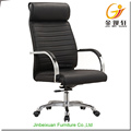 Giratória de couro cadeira reclinável