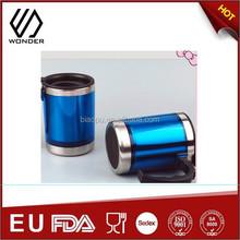 Take away battery powered coffee cup warmer