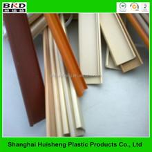 Furniture flexible plastic protective furniture window edge trim