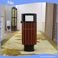 hotel Lobby stainless steel waste bin/ash barrel/dustbin