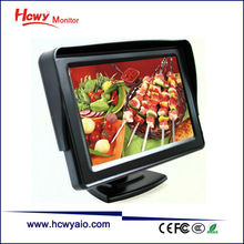 Best Quality 5inch TFT LCD Car Monitor With 480*234 & 800*480 Optional