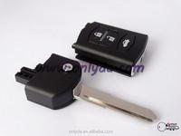Mazda 3 button modified remote key blank,key blank,lock key