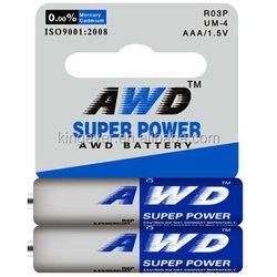 dry battery R03 1.5v r03p aaa um4 dry battery