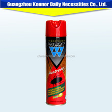 Household chemical aerosol insecticide spray killing flies and crawling insects