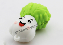 customized design usb pendrive, vegetable shape usb memory stick, free sample usb flash drive
