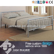 Can be customized modern bedroom furniture double bed metal bed OK-1104