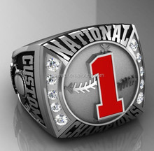 Baseball Tournament rings customized for Kids