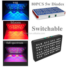 2015 Best selling Modular design CIDLY mars ii series led grow light 400w(80x5watt)
