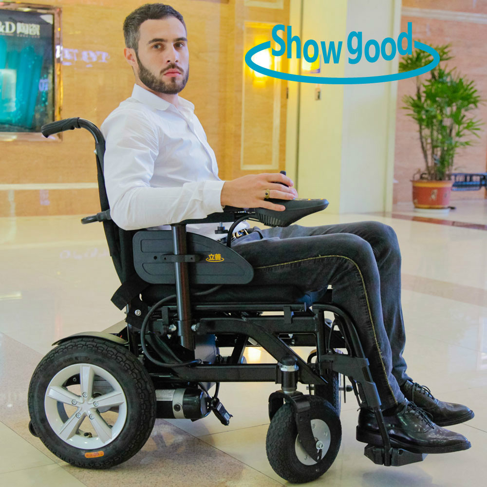 Showgood Light Weight Folding Electric Wheelchair