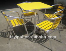 leisure garden patio cafe coffee shop lounge aluminum dining sex chairs (YC001)