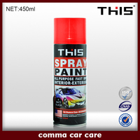wholesale msds acrylic removable car aerosol spray paint