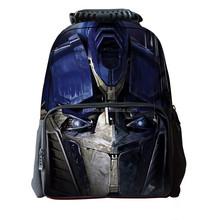Eco friendly bag backpack dual compartment 2015 new transformers children multifunctional student bag mochila Rucksack