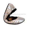 dama rollo hasta zapatillas de ballet , zapatos de ballet plegables