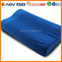 Hot sale Guangzhou factory comfortable memory foam bed wedge/pillow