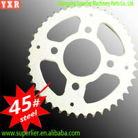 good performance motorcycle parts china,professional custom motor cycle accessories,forging link chain sprocket wheel
