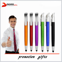 promotion plastic ballpen with capacitive touch tip