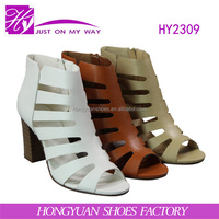 hot sale comfortable fashion high heel sandals shoes women