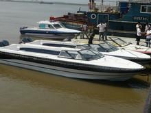 UF31 fiberglass 9.8m water taxi or open passenger boat