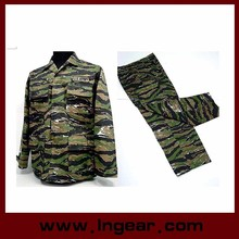 military Uniform for sales Office Uniform Camouflage for American Tiger Stripe Camo