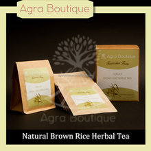 Eco-friendly bags for food packaging Natrural farming rice Calm slimming tea