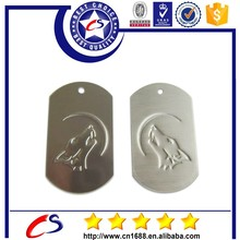 high quality Promotional Gift Shenzhen Factory Metal Personalized Dog Tag