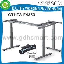 Automate height adjustable desk frame with electric height control panel & animation desk