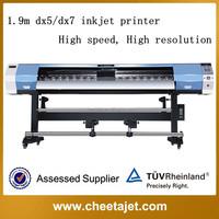 Original good quality 1.9m 1440dpi YF-2000D DX5/DX7 eco solvent inkjet printer