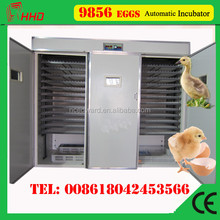 CE approved electronic thermostat industrial egg large incubator 8448 Eggs