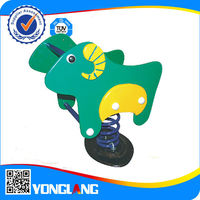 2015 Kids Cheap Outdoor Playground Rocking Spring Horse For Sale