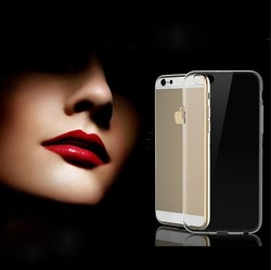 Shemax Slim Clear Back Case with Bumper Cover For iPhone 6 4.7 inch
