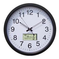 35CM Plastic RF Weather Station Clock