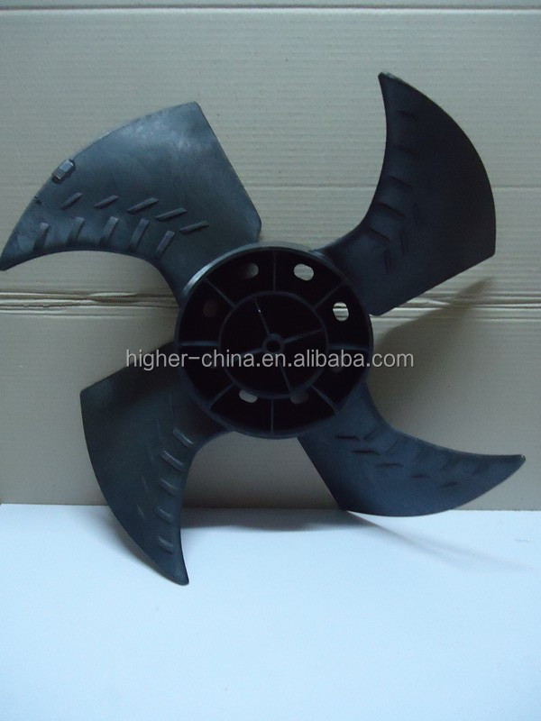 plastic fan blade for motor , make fan blade , air cooler fan blade
