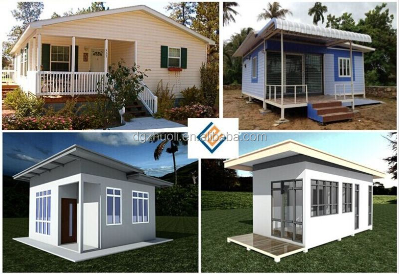 Modular prefab home kit price low cost prefab villa for Low cost house kits
