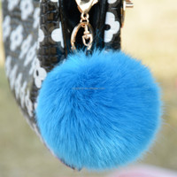 Hot Selling wholesale colorful pom poms faux fur ball