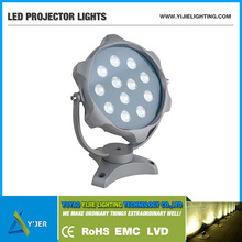 YJX-0021 IP65 PF0.9 high power 12W waterproof sunflower RGB Flood LED Projector Lights