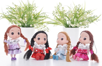 2015 Hot wholesale Mini doll ddung girl doll 12cm