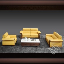 2015 new model orange sofa sets pictures MT75 factory in lecong furniture center
